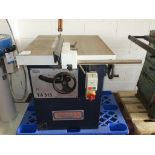 Lot 16 - * Sedgwick TA315 Sawbench . Please note there is a £10 Plus VAT Lift Out Fee on this lot.