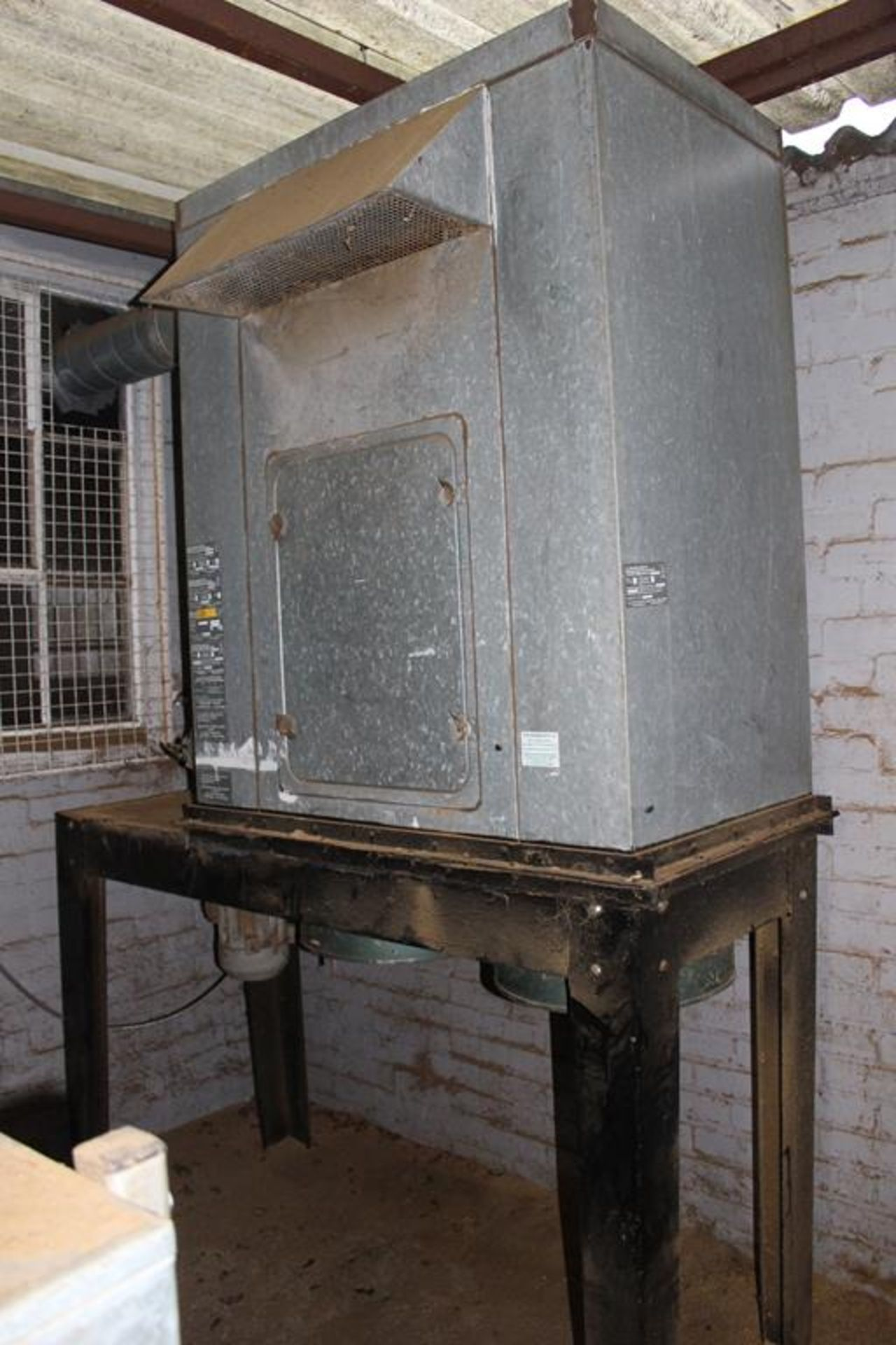 Lot 67 - * 2 Bag Dust Extraction Cabinet A 3 phase 2 Bag Dust Extraction Cabinet on Stand. Please note this