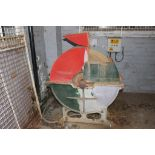 Lot 66 - * Powered Tool Grinding Wheel A 3 phase Grinding Wheel and Stand. Please note this lot is located at