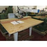 Lot 11 - * A Stromab RS60 240V Radial Arm Saw S/N 231459 3PH YOM 2004. Please note there is a £10 Plus VAT