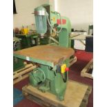 Lot 18 - * A Wadkin Overhead Router UR655 S/N 76109. Please note there is a £10 Plus VAT Lift Out Fee on this