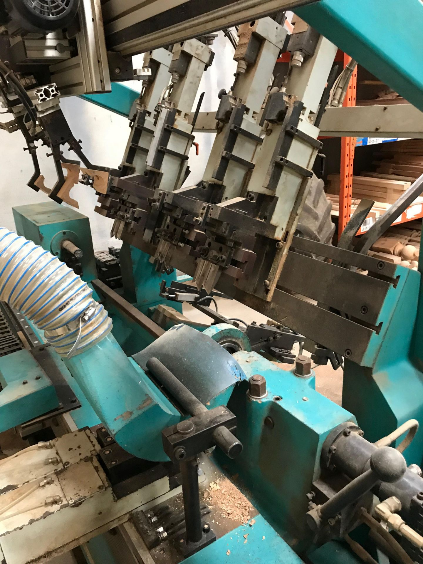 Lot 19 - * 1996 Intorex TZ-1200 Turning Centre with Workpiece Magazine; 4 X back & 2 X front knife