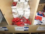 "Lot 52 - 400 14018 6"" LINESMAN PLIER WITH RED PVC HANDLE"