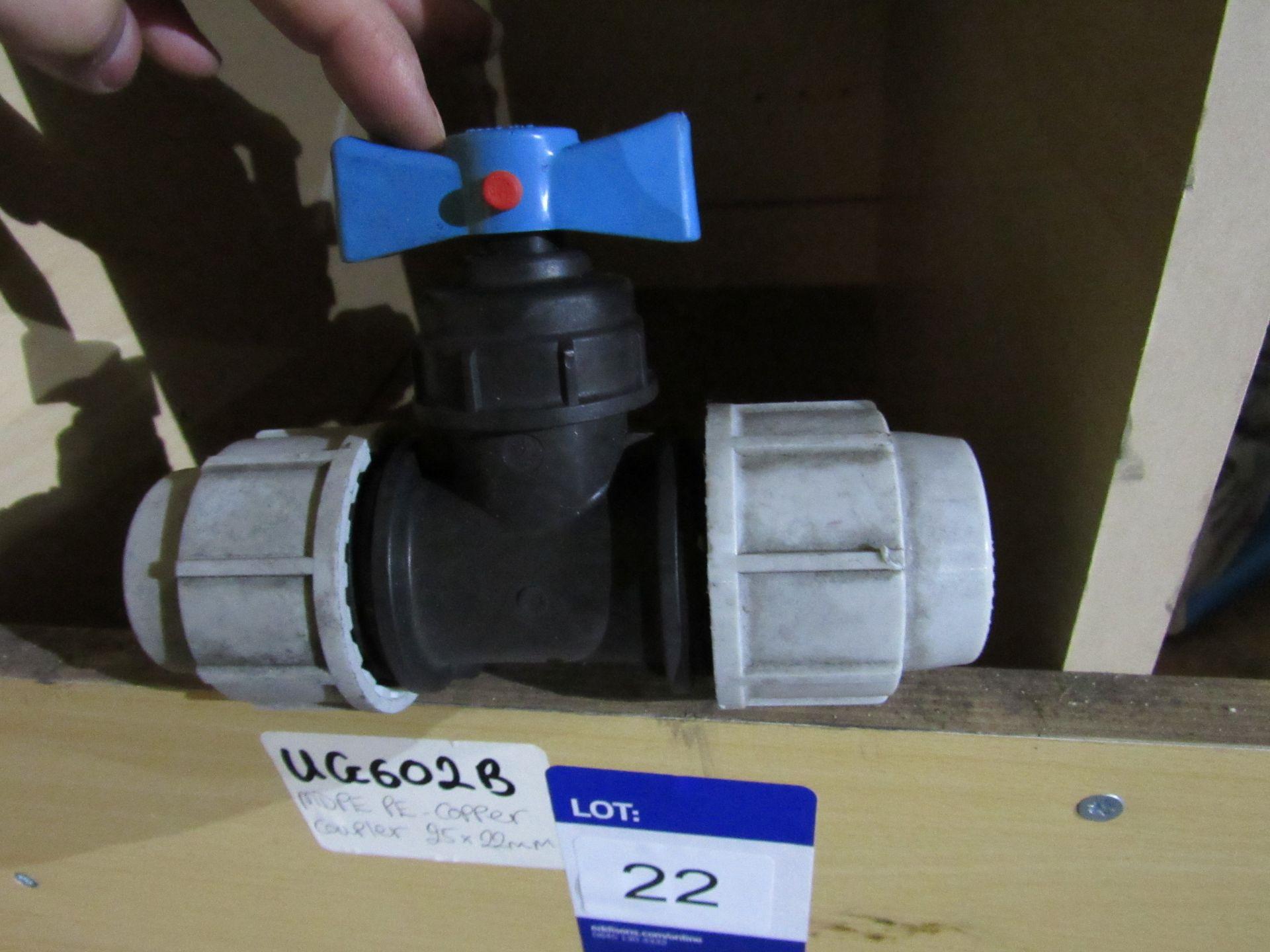 Lot 22 - 1 UG602B - Plasson 32mm Stop Tap