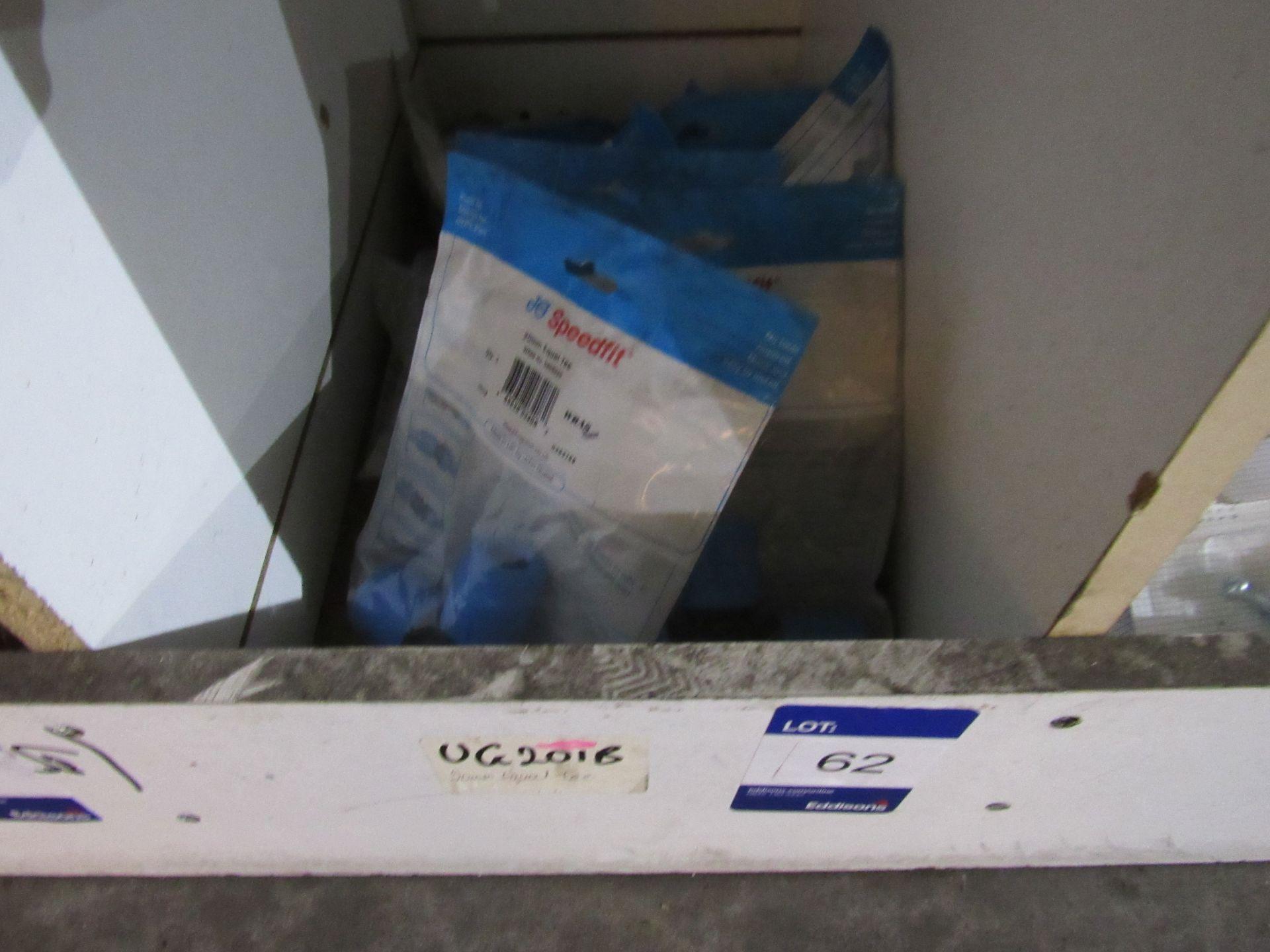 Lot 62 - 10 UG201B 20mm MDPE Speedfit Equal Tee