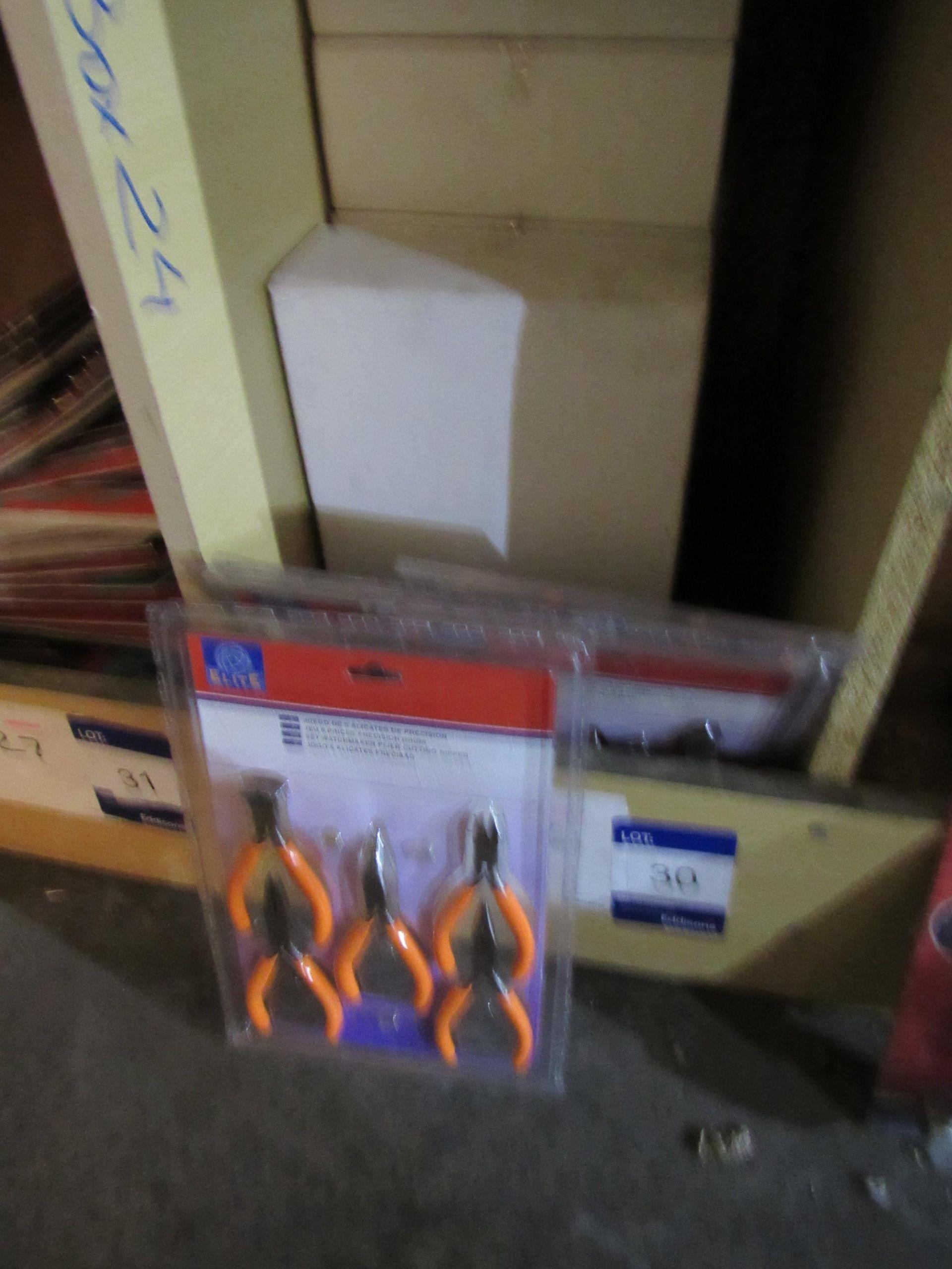 Lot 30 - 47 10022 MINI PLIERS SET - Orange