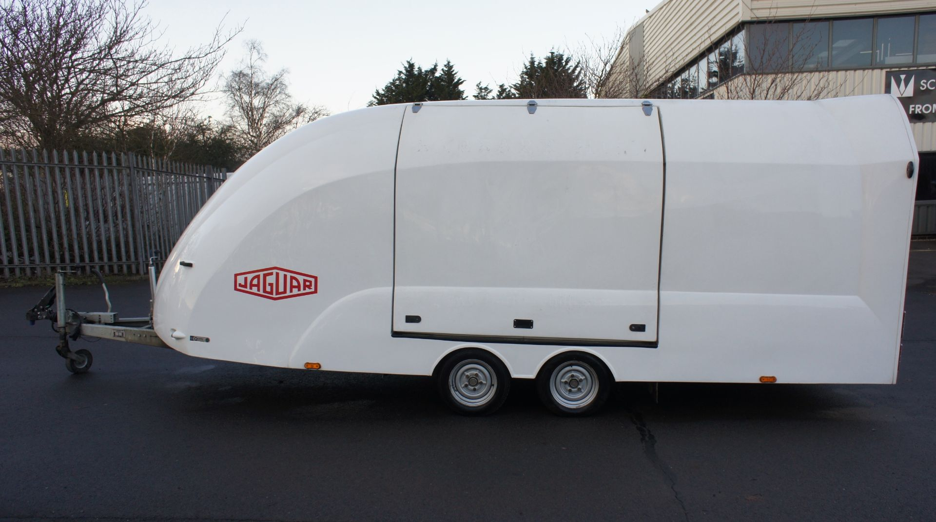 Lot 2 - * Eco-Trailer' Velocity RS Enclosed Twin Axle Car Trailer