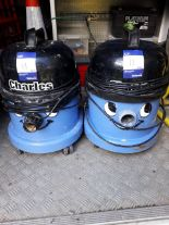 Lot 13 - 2 x Numatic Charles vacuum's model CVC370-2 240v without accessories, serial number 162819057 and