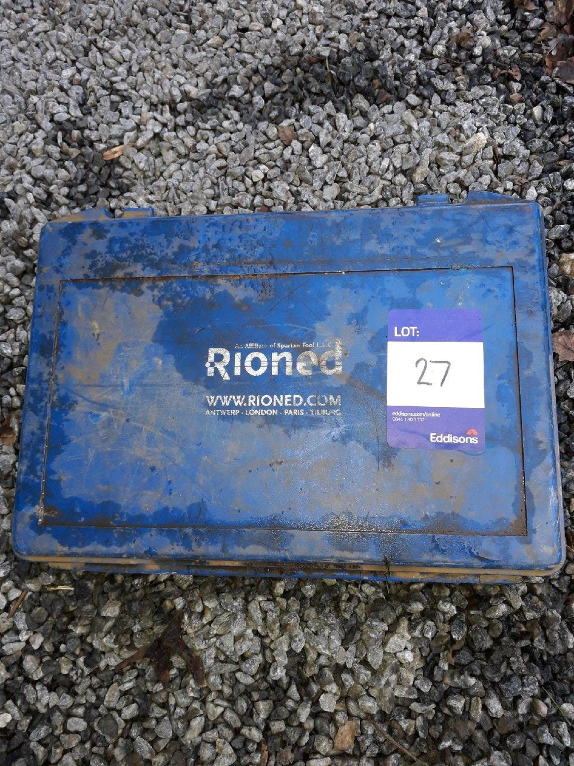 Lot 27 - Rioned drill bits. (Please note: Viewing is by appointment only. Please Tel: 0161 429 5800)