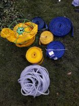 Lot 7 - Quantity of 7 hoses – various sizes. (Please note: Viewing is by appointment only. Please Tel: