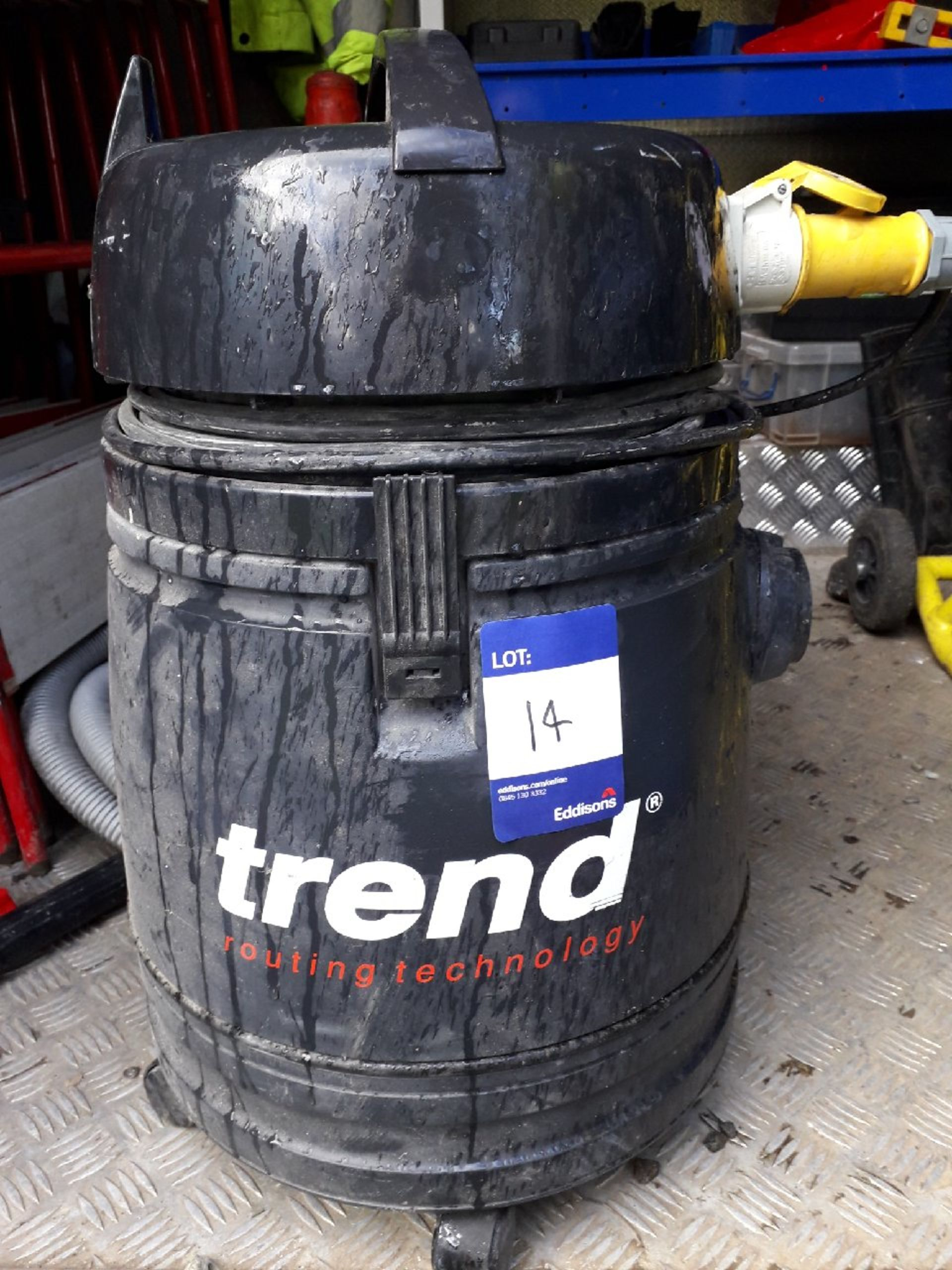 Lot 14 - Trend T30 ALF wet & dry vacuum serial number 3-007527 110v. (Please note: Viewing is by