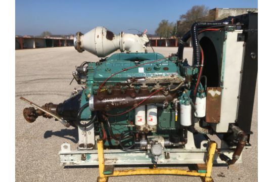 GM Detroit V12 Diesel Power Pack with Over Centre Clutch