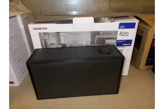 2x Onkyo NCP-302 Wireless Speaker (1x on display & 1x boxed