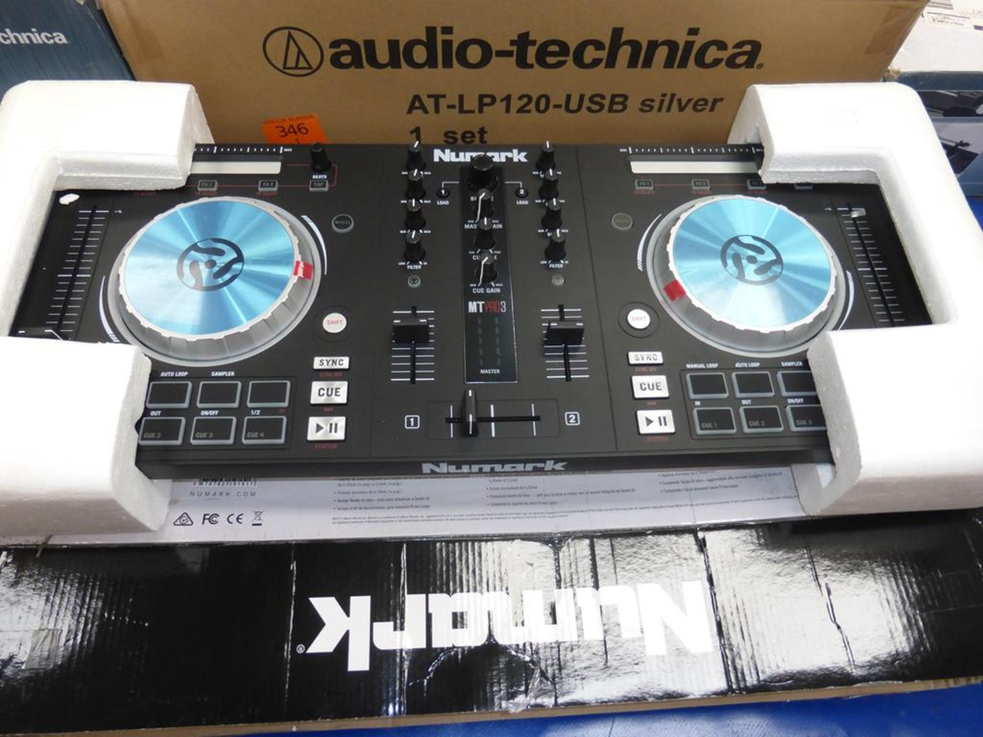 Lot 56 - * A Numark Mixtrack Pro 3 All in One Controller (RRP £162)