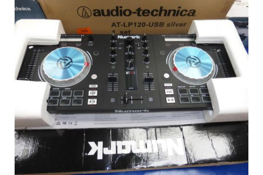 A Numark Mixtrack Pro 3 All in One Controller (RRP £162)