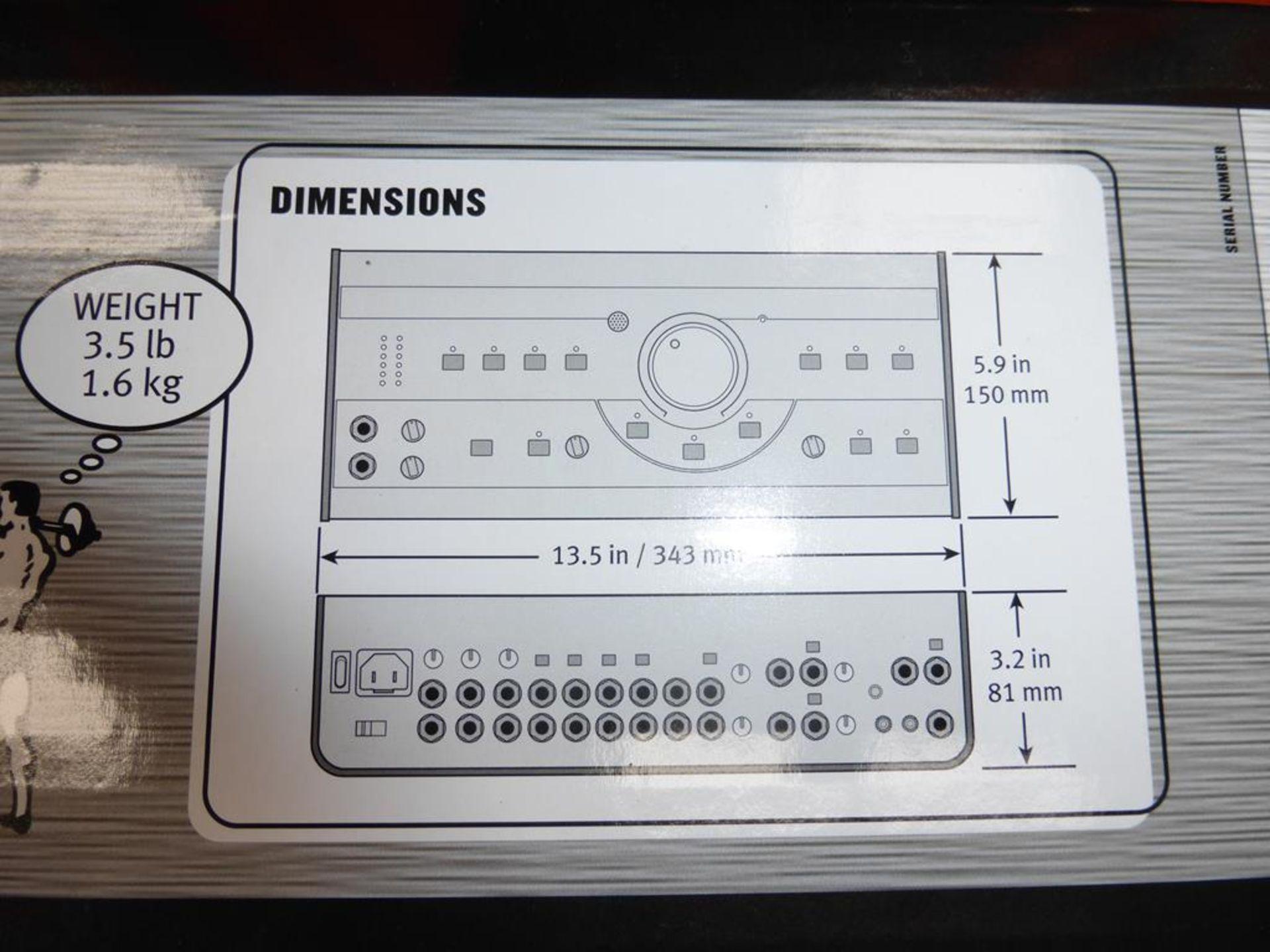 Lot 48 - * A Mackie Big Knob Studio Command System (RRP £250)