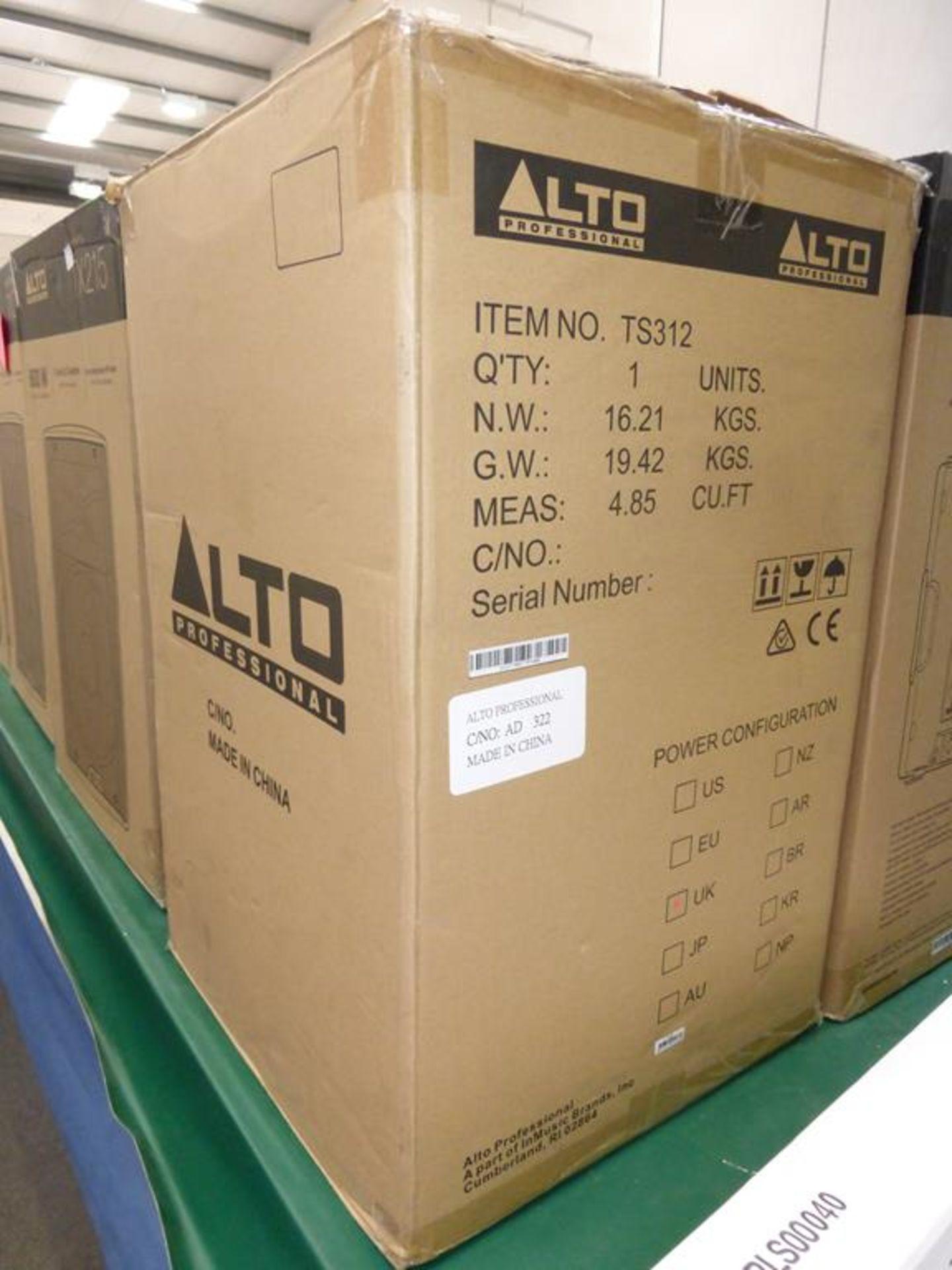 Lot 10 - * Alto Professional Truesonic 3 Series TS312 2000W 12'' 2-way powered Speaker, RRP £265