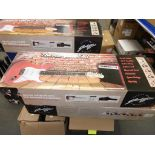 Lot 38 - * A Johnny Brook Guitar Kit with 20W Amplifier and Accessories (RRP £88.99) (Colour Black)