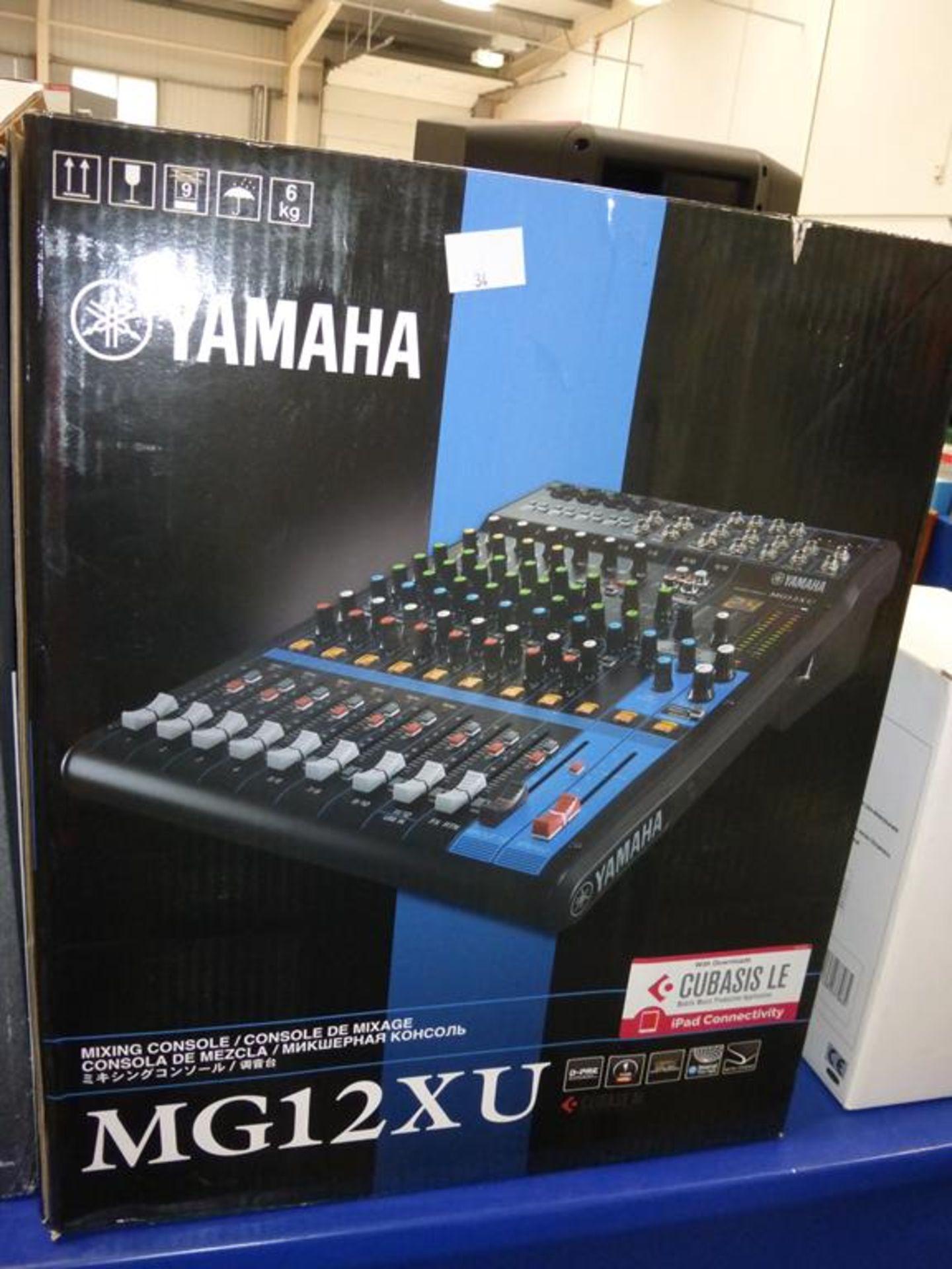 Lot 34 - * Yamaha MG12XU Mixing Console (RRP £230)