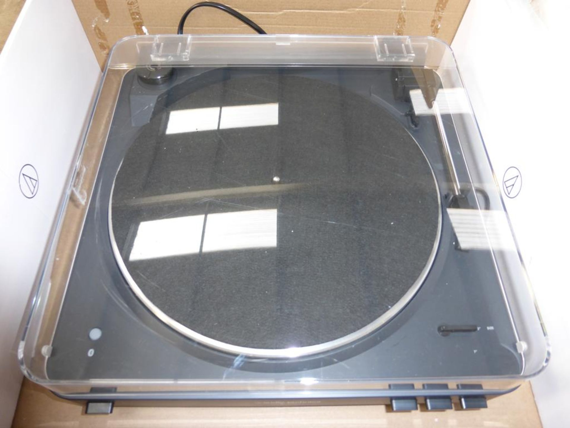 Lot 58 - * An Audio-Technica AT-LP60BK-BT Turntable (RRP £148.95)