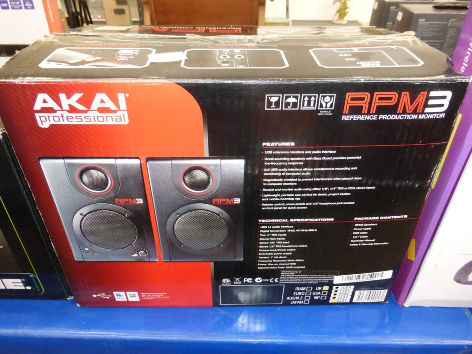 Lot 49 - * An Akai Professional RPM 3 Reference Production Monitor (RRP £120)