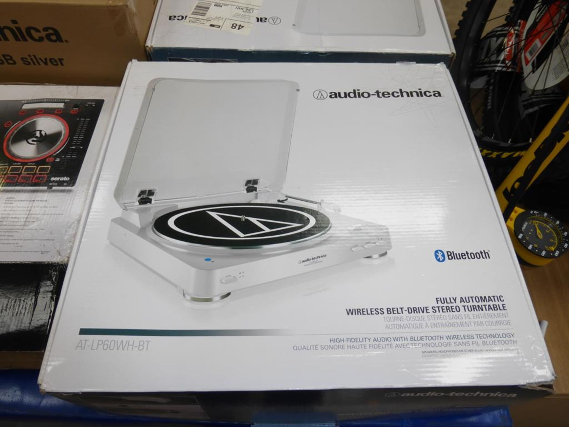 Lot 57 - * An Audio-Technica AT-LP6OWH-BT Turntable (RRP £148.95)