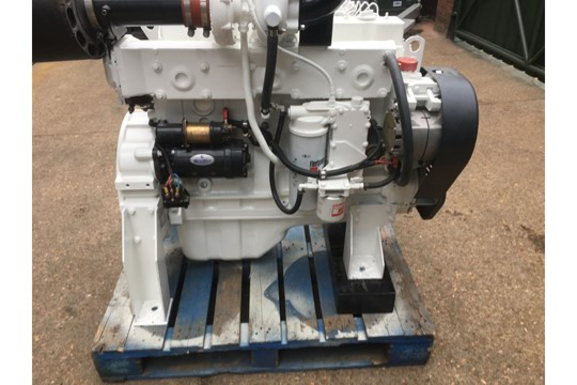 Lot 42 - A Cummins Model 6CT 8.3 6 Cylinder Marine Diesel Engine.
