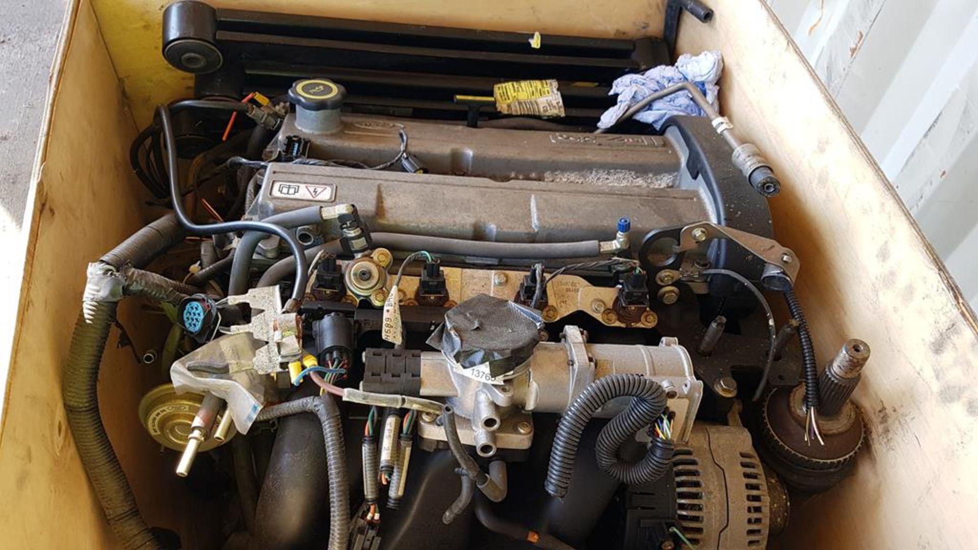 Lot 130 - Ford Zetec 16V Engine (Spares or Repair).