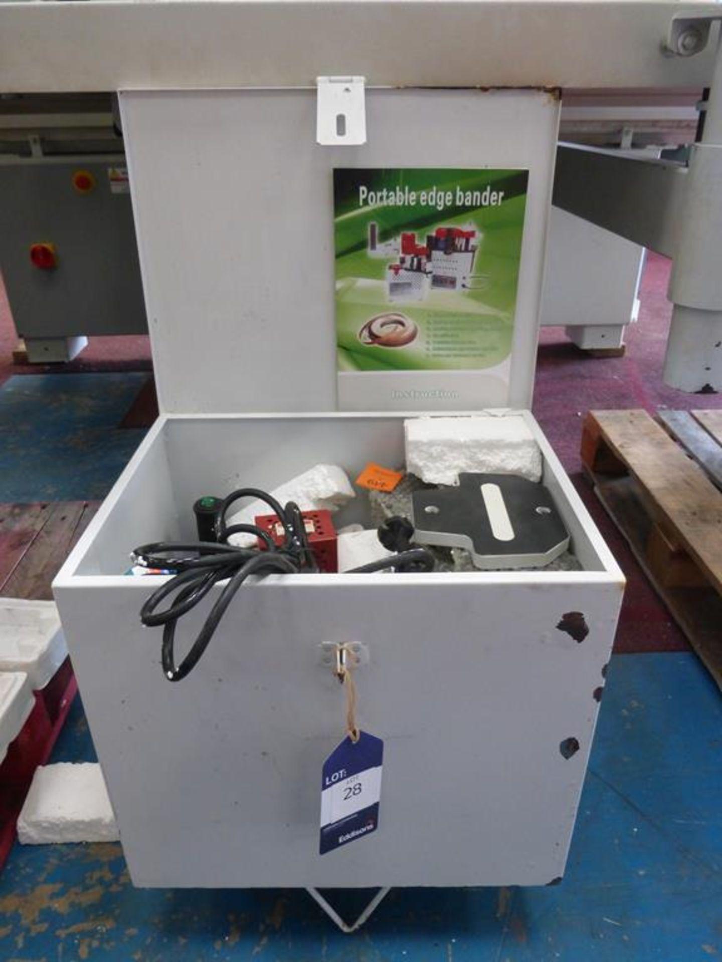 Lot 28 - Portable Edge Bander