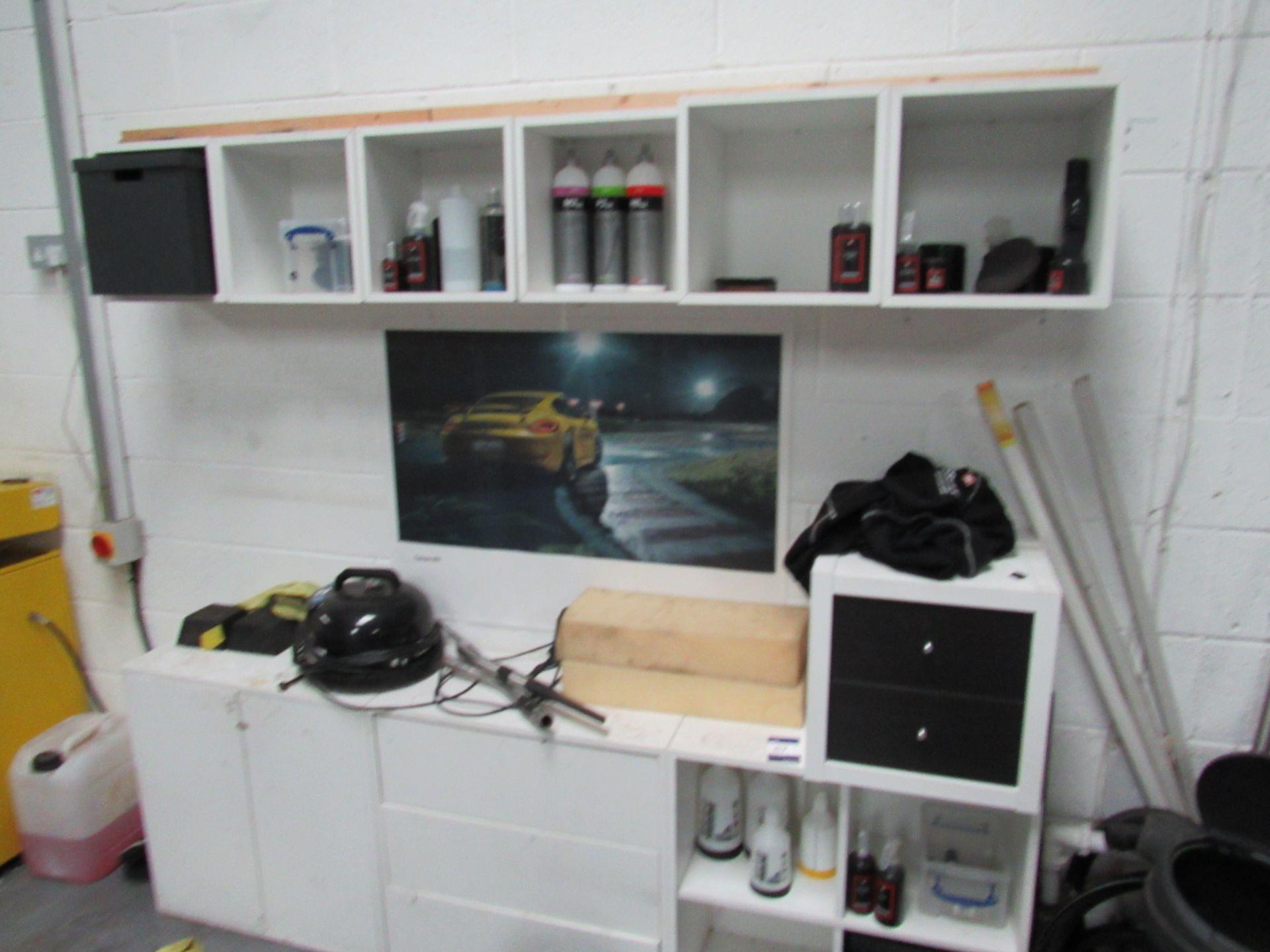 Lot 67 - White Storage Unit (Located at Unit 11)