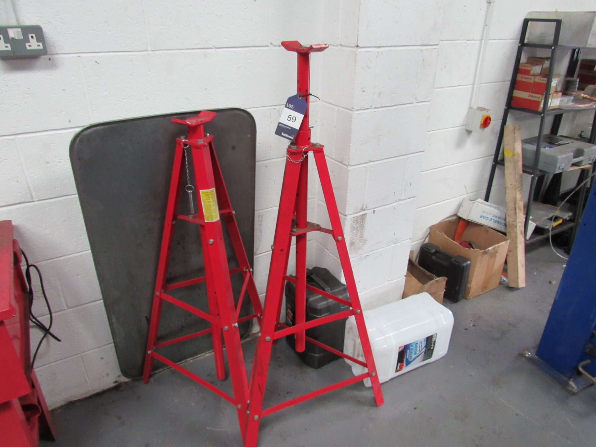 Lot 59 - 2 2T High Position Jack Stands (Located at Unit 11)