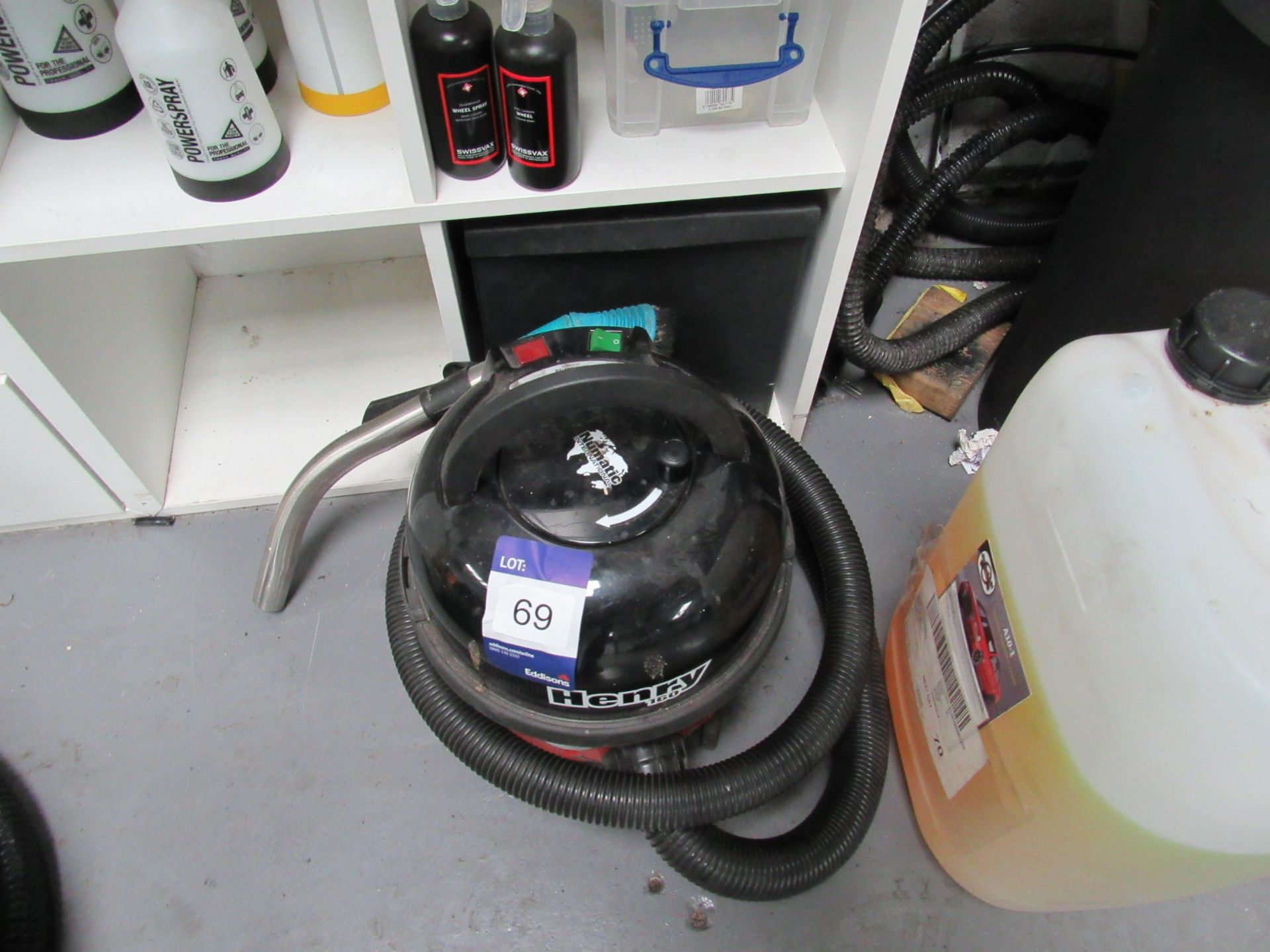 Lot 69 - Henry 160 HVR 160-11 Vacuum Cleaner (Located at Unit 11)