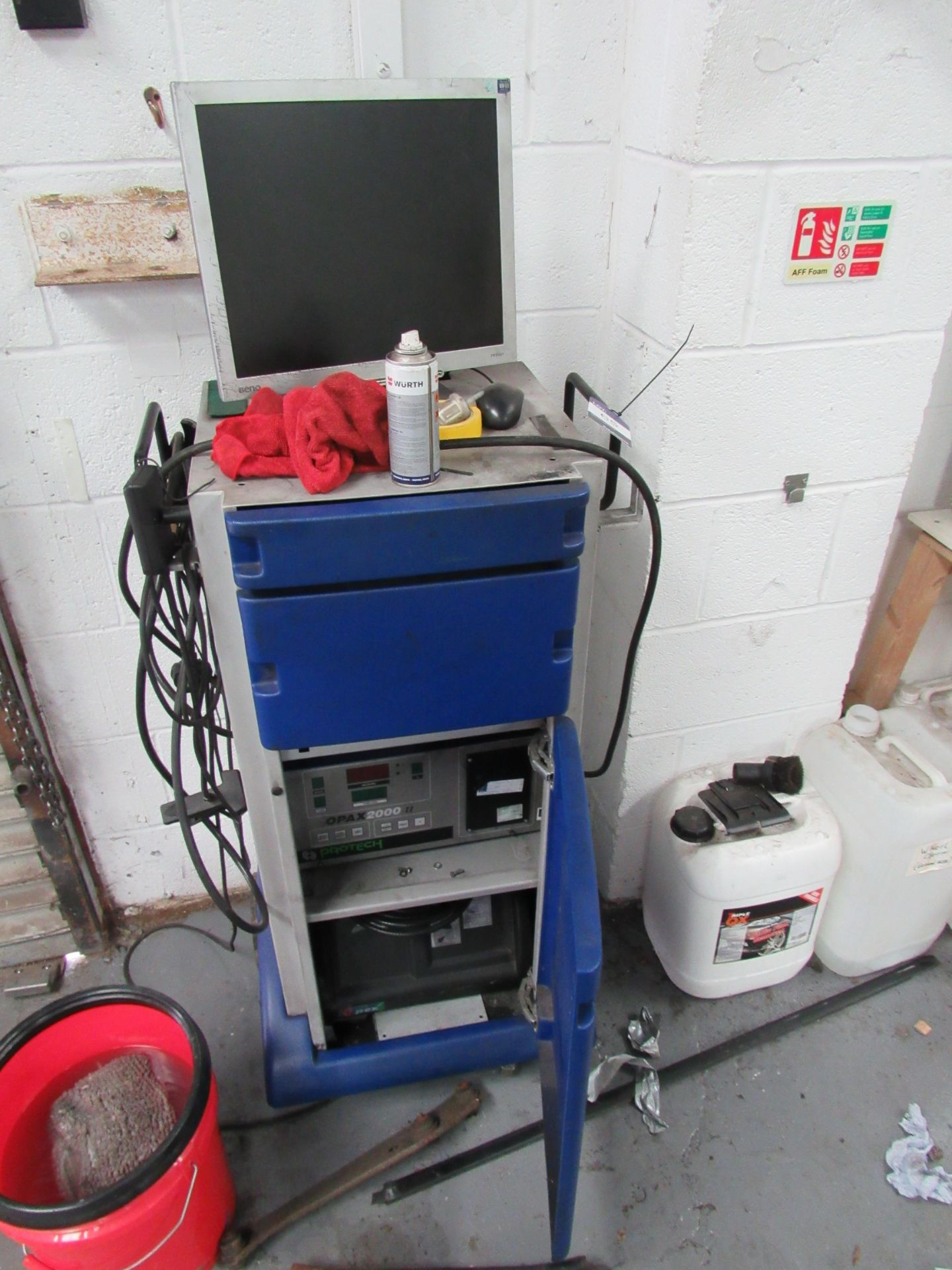 Lot 65 - Protech Opax 2000II Emissions Analyser (Located at Unit 11)