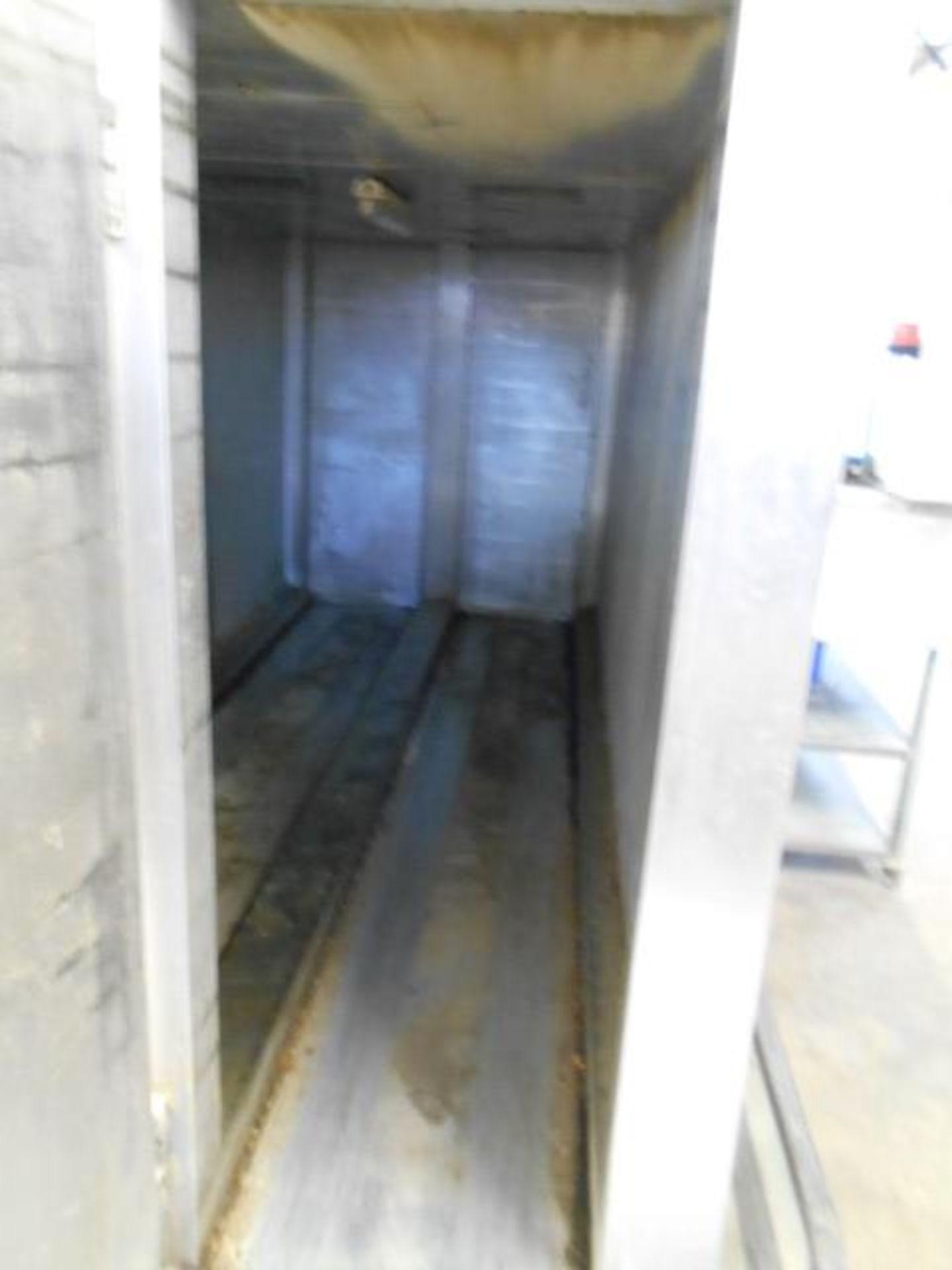 Lot 14 - Acrivarn 2 Channel Proving Cabinet 4.m Long, Part