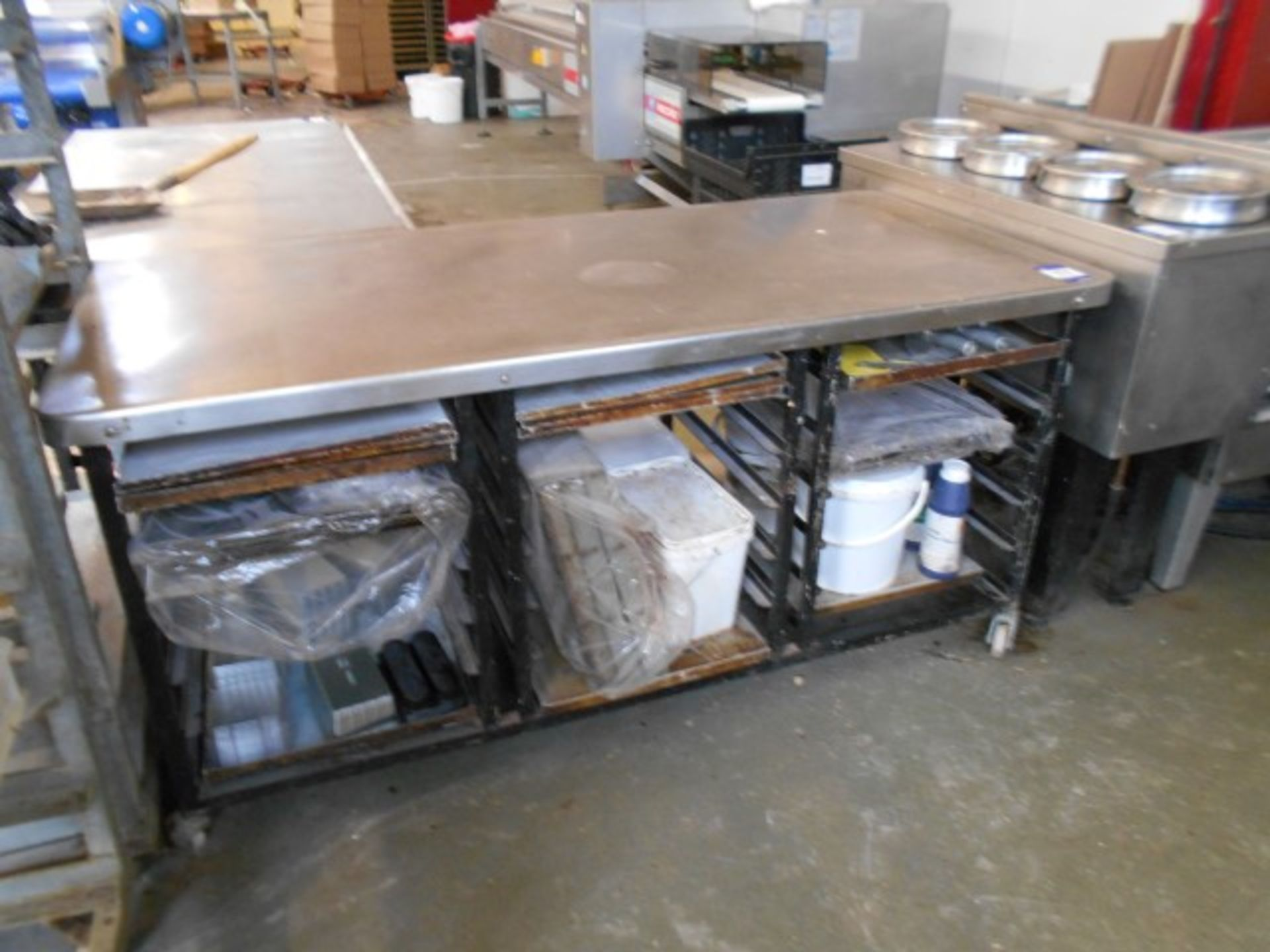 Lot 37 - 3 Various Stainless Steel Trolleys with Undershelv