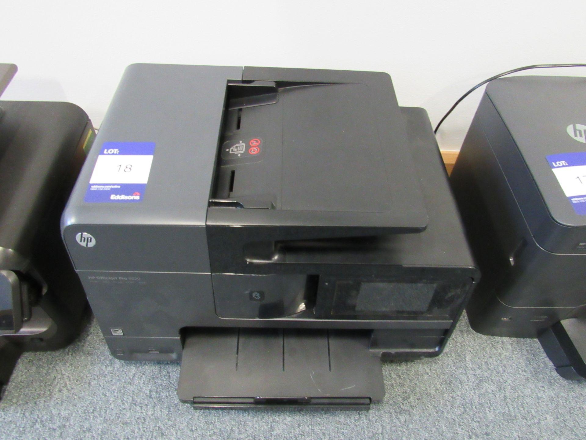 Lot 18 - HP Officejet Pro 8620 All in One Fax/Scan/Printer/Copier