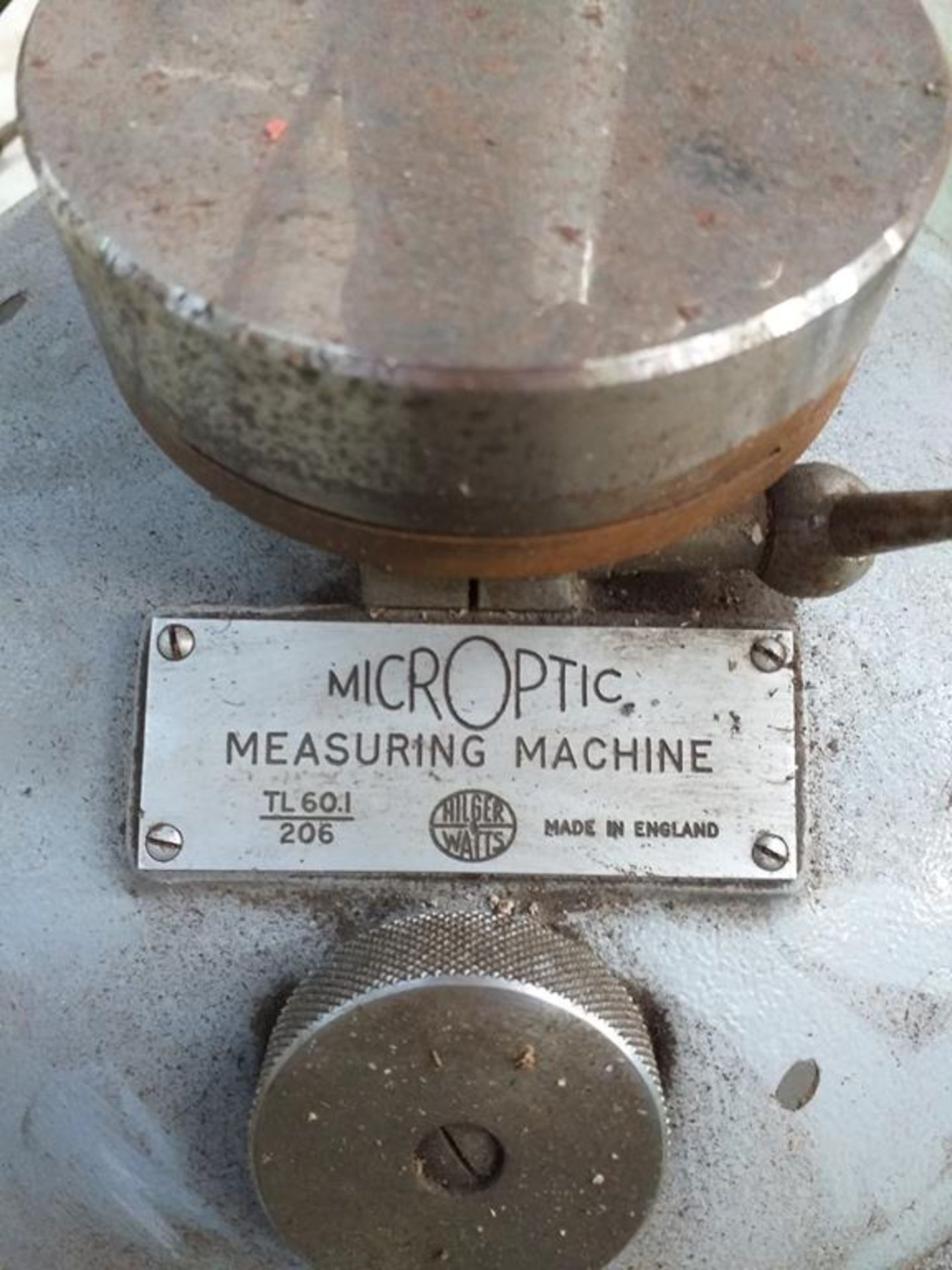 Lot 561 - A Microptic Measuring Machine