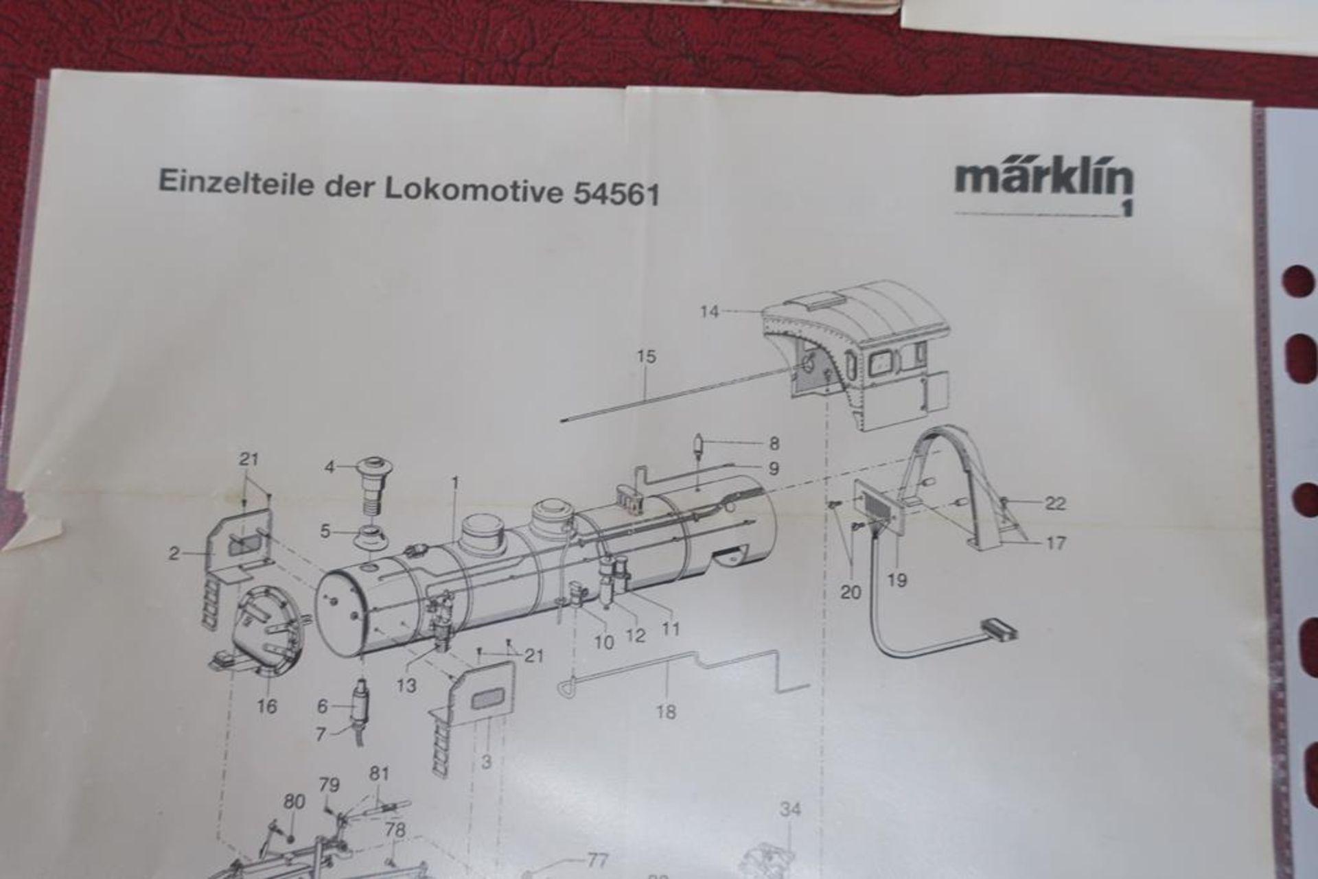 Lot 1071 - Marklin Maxi 54562 - Gauge 1 - Locomotive & Tender with Sound