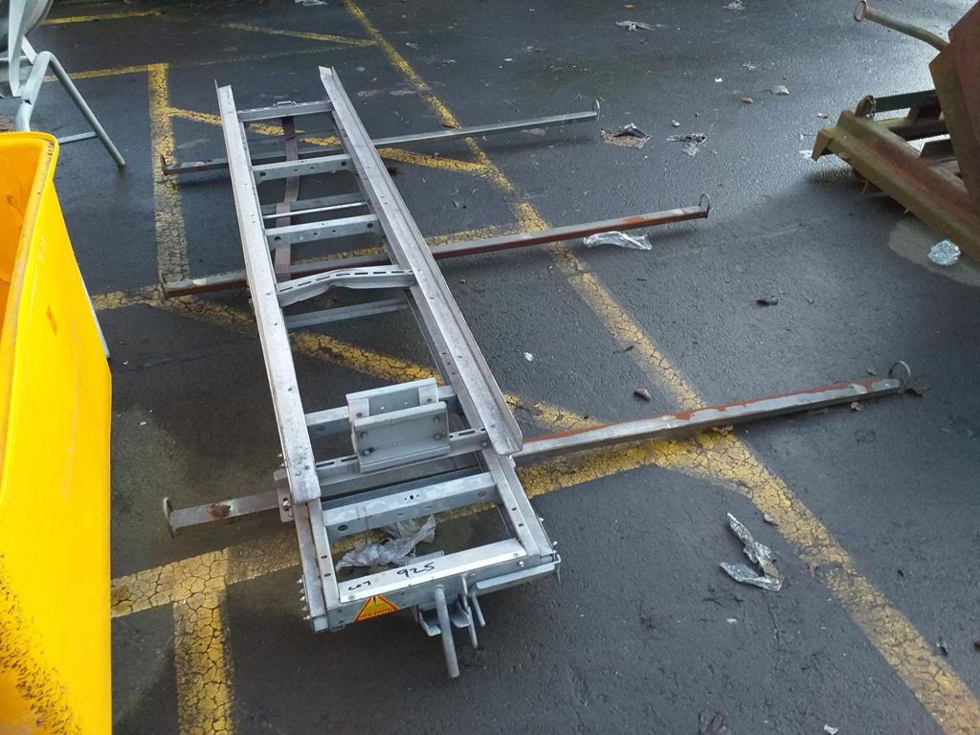 Lot 925 - Van Roof Rack and Ladder Rack System