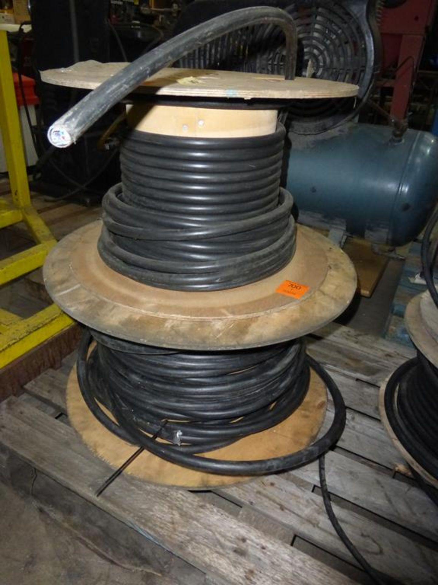 Lot 220 - 2 x Reels of Cable