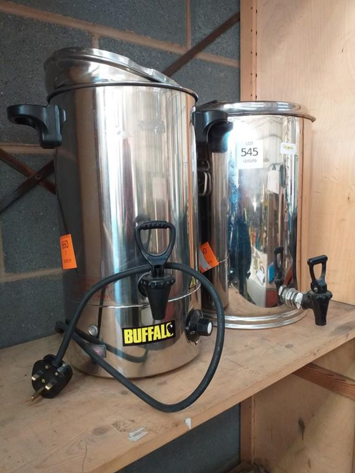 Lot 545 - Buffalo Water Heaters