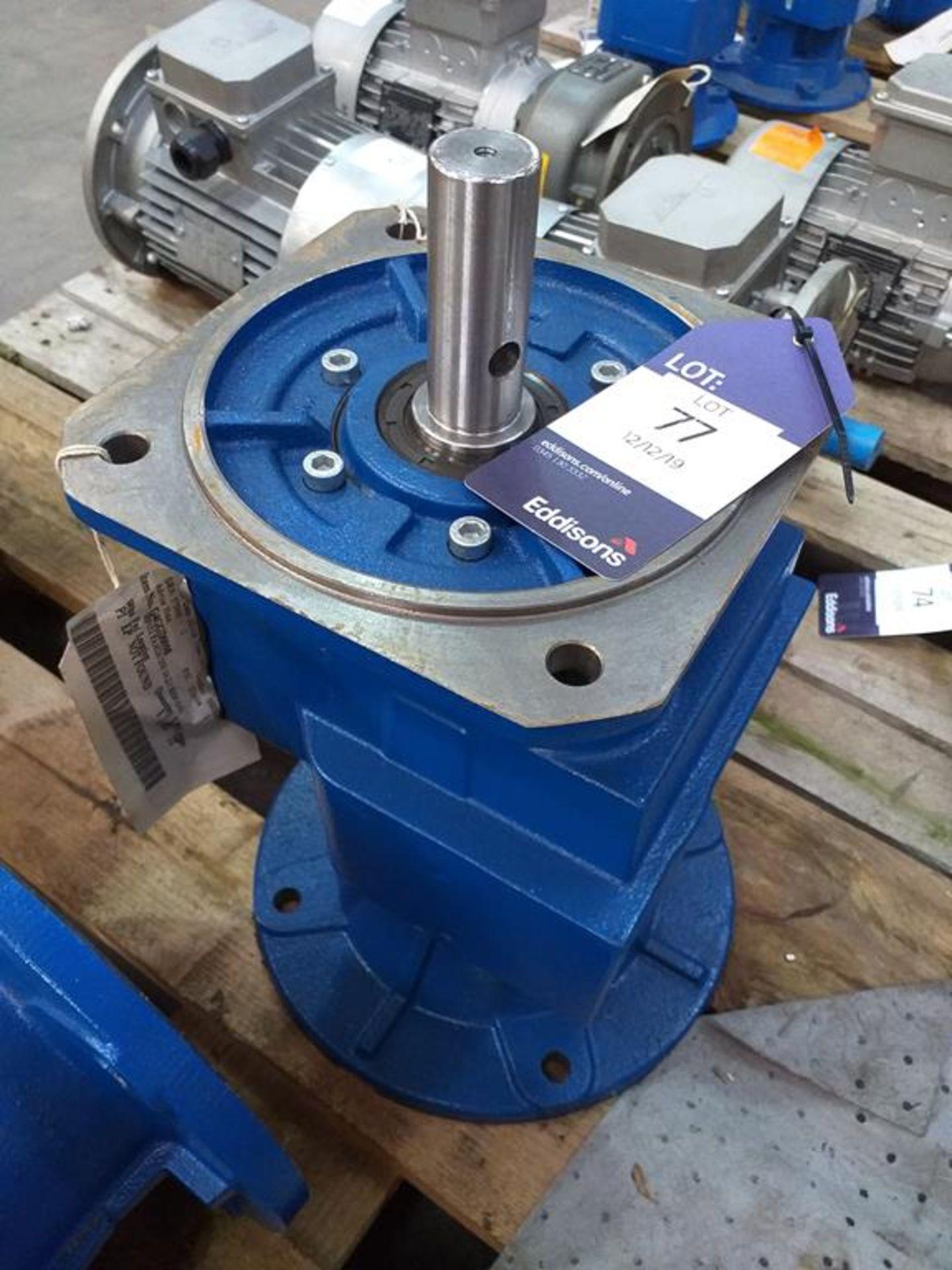 Lot 77 - Motovario HF052 PAM28/250 14 2:1 REF:GG Gearbox