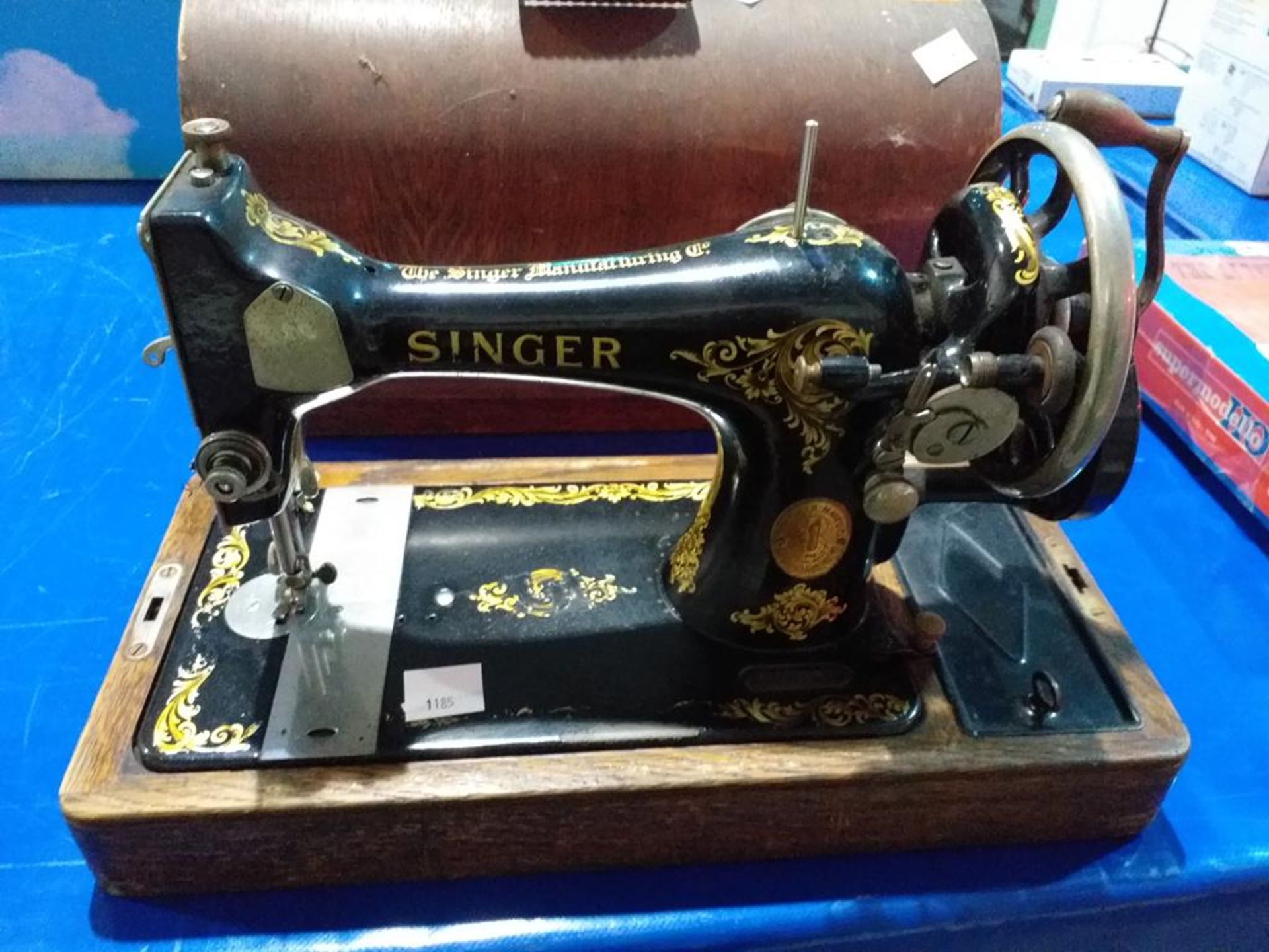 Lot 1185 - Mechanical Singer Sewing Machine