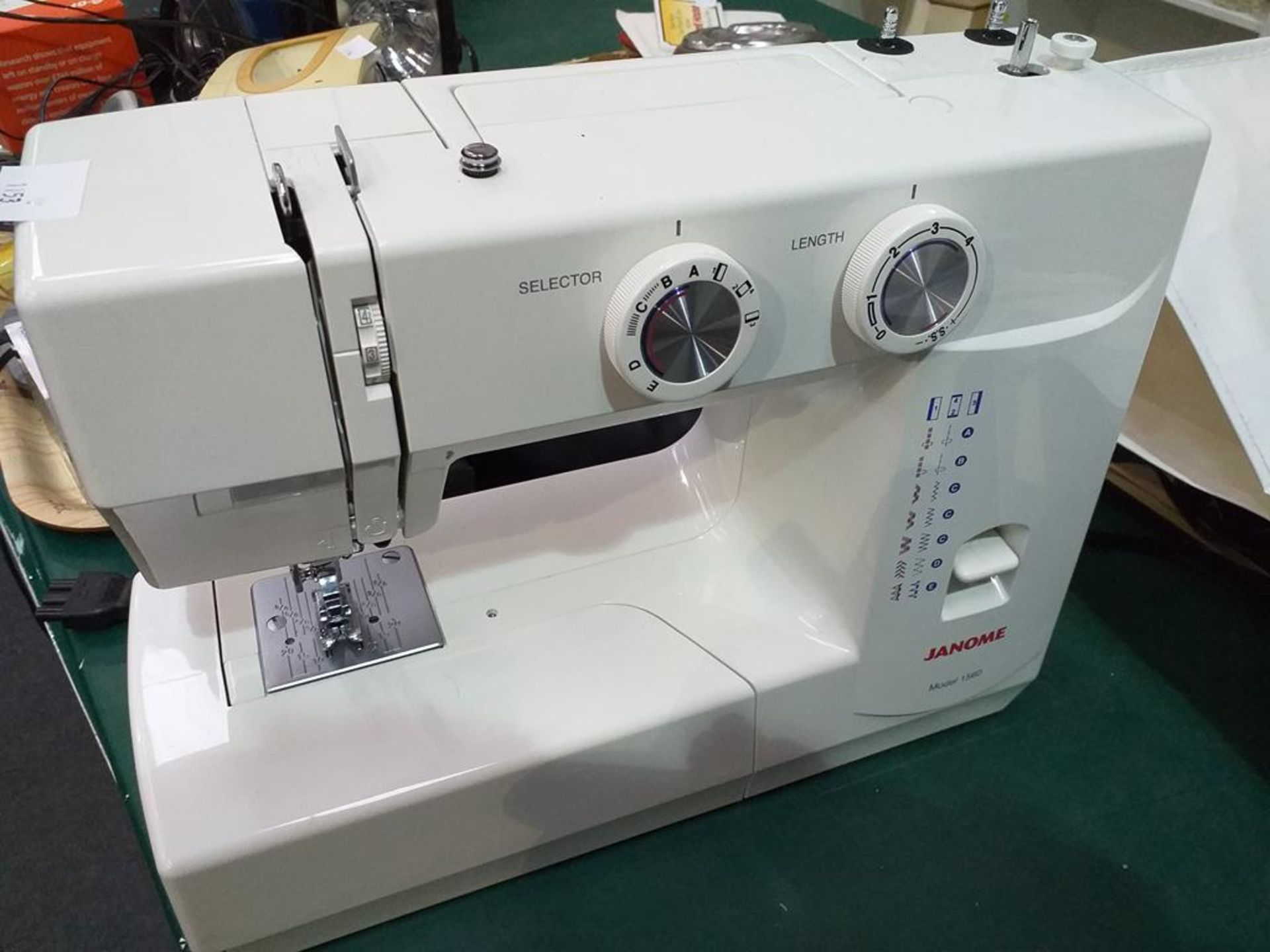 Lot 1153 - Janome Electric Sewing Machine