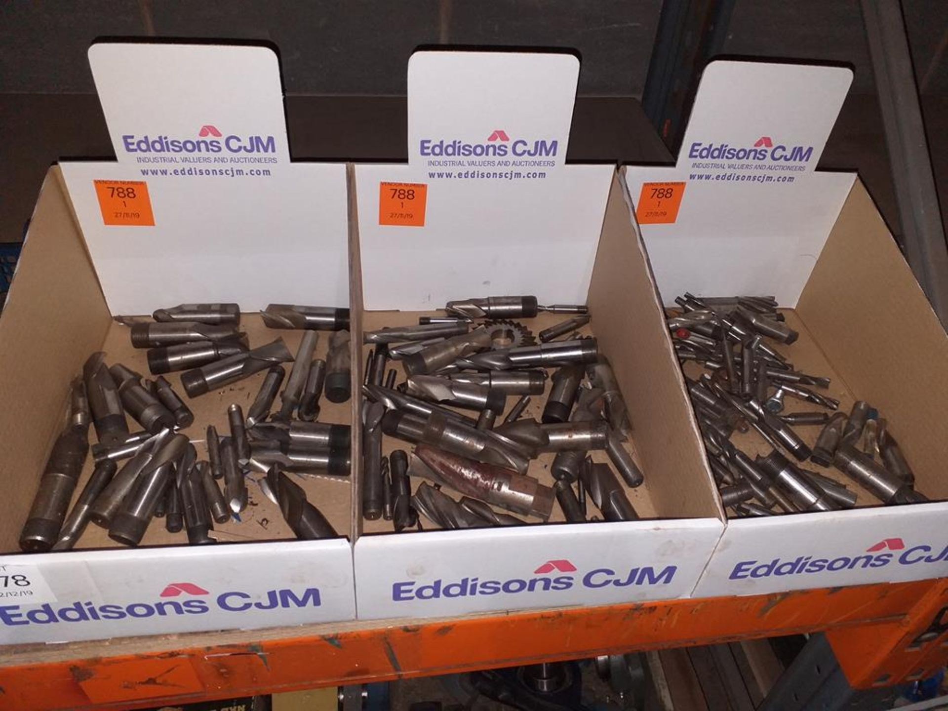 Lot 578 - End Mills and Slot Drills