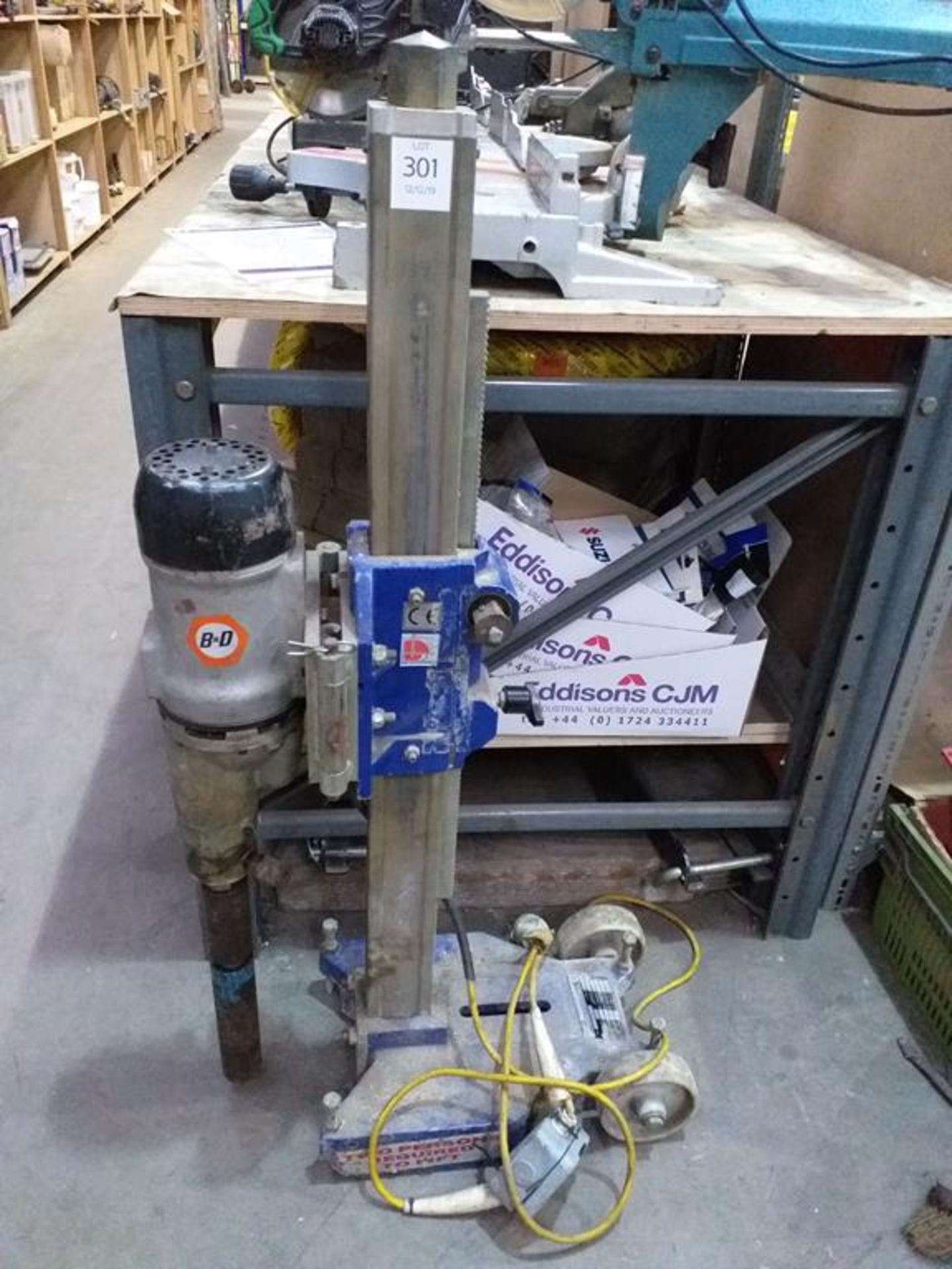 Lot 301 - Stand Mounted Core Drill