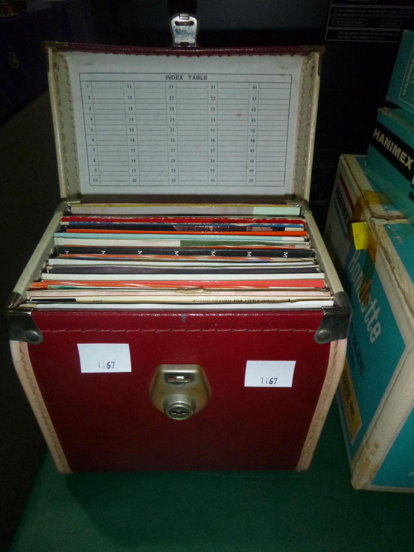 "Lot 1167 - Box of ""45"" Records"