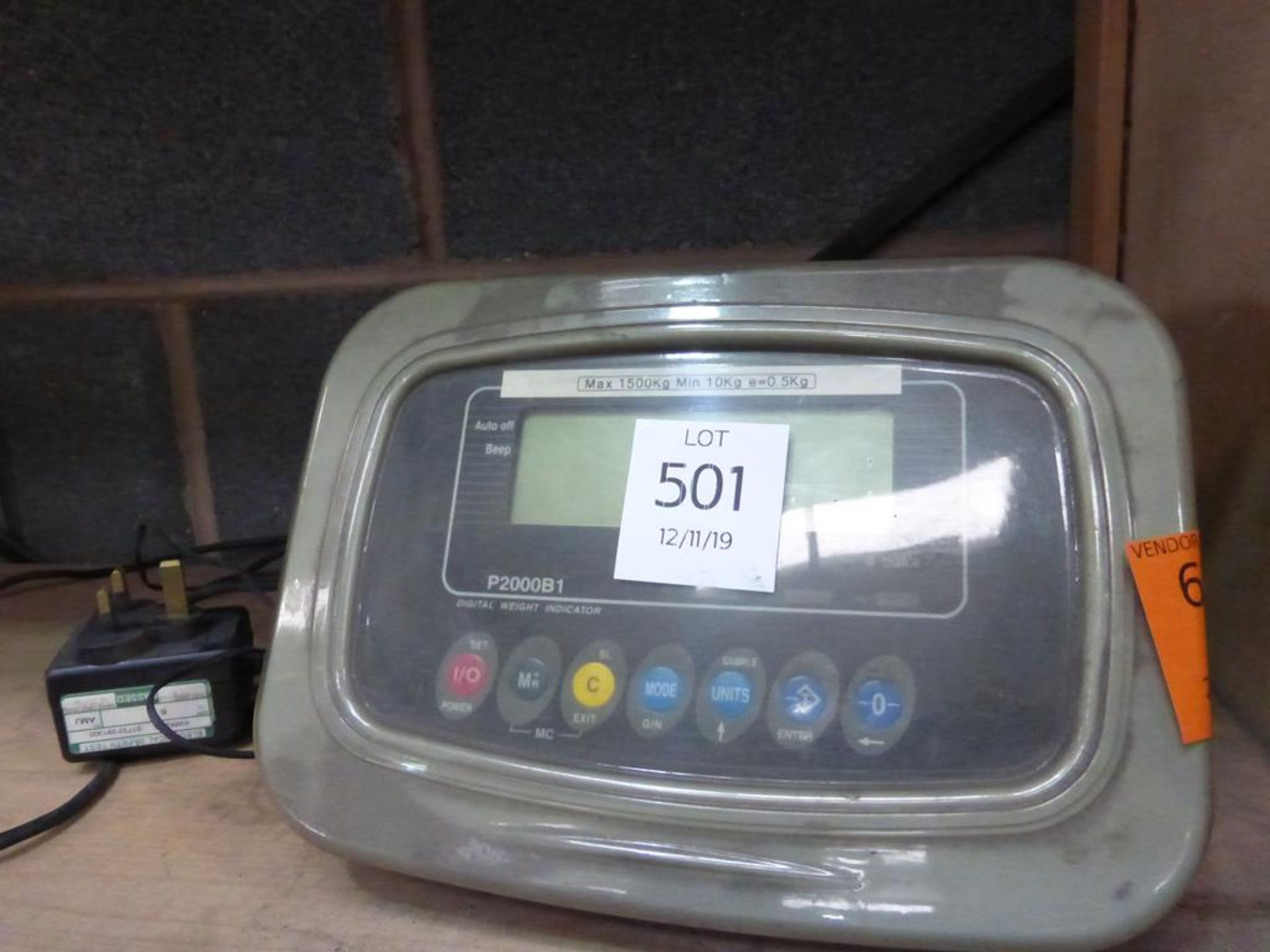 Lot 501 - Digital Weight Indicator