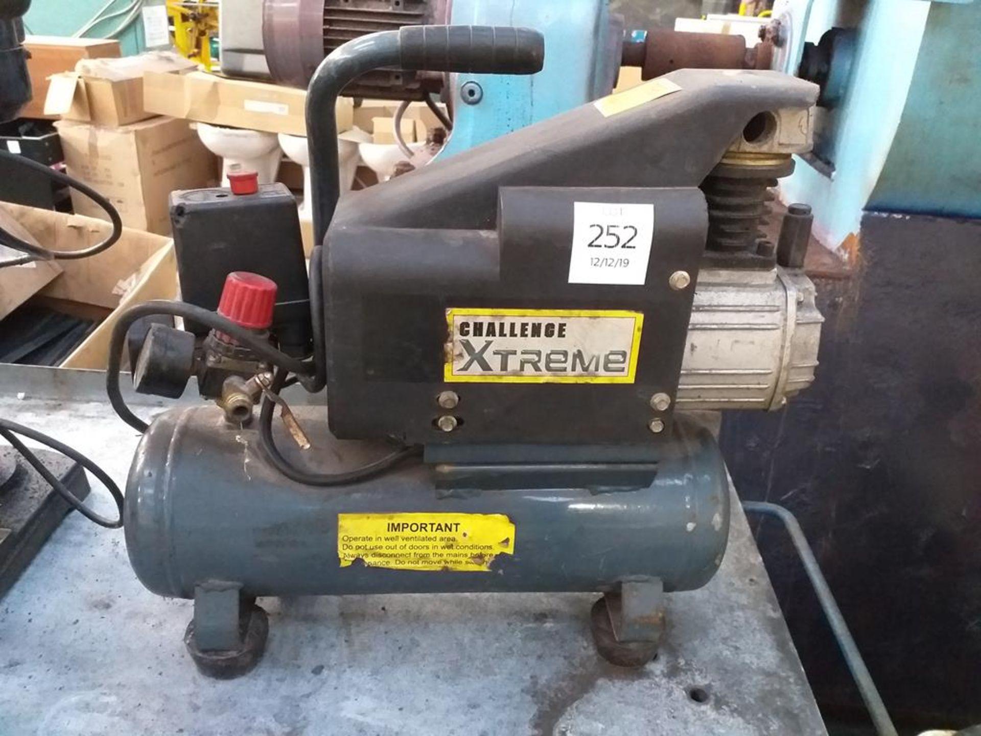 Lot 252 - A Challenge Xtreme Mini Compressor