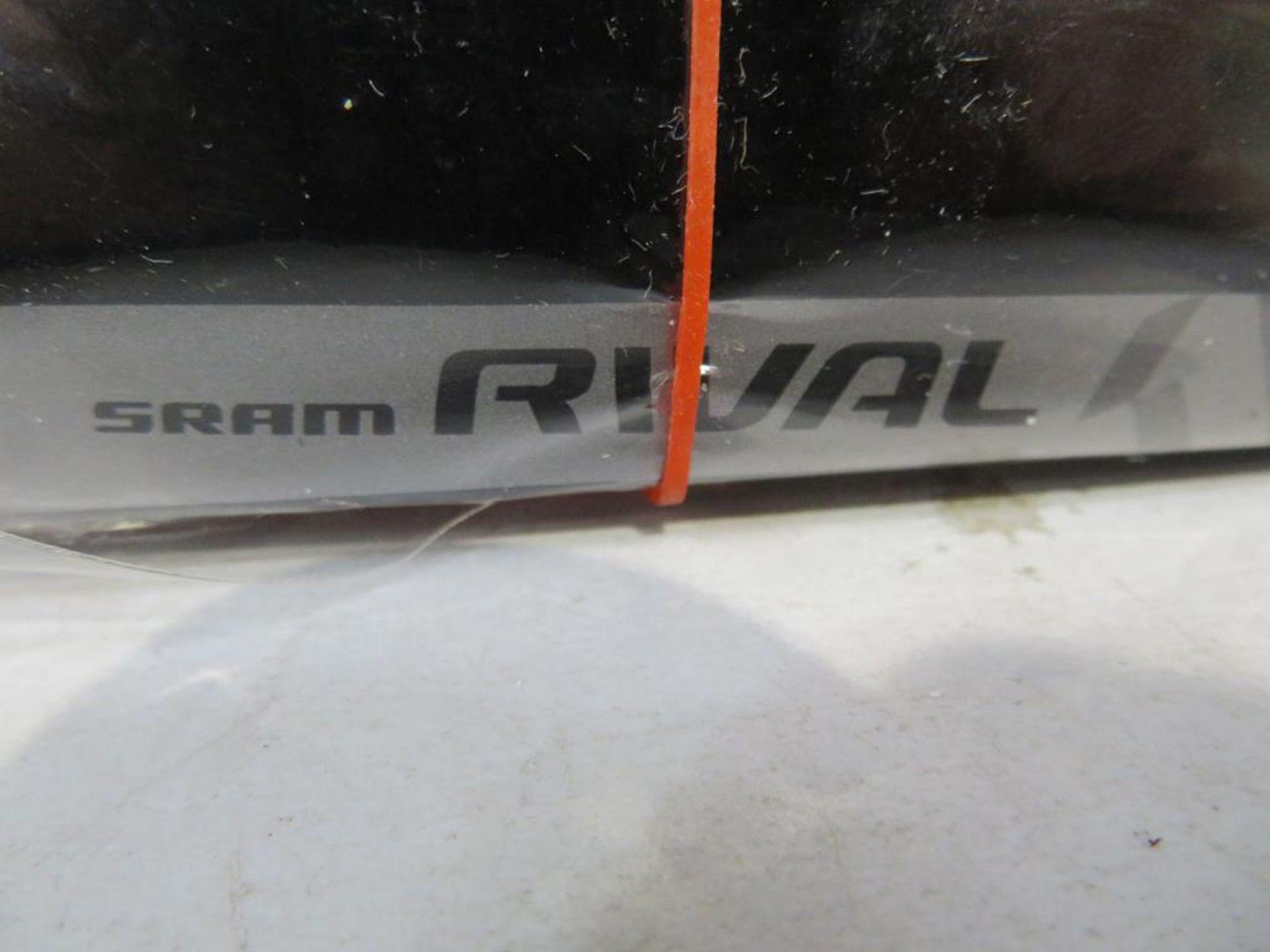 Lot 47 - Sram Rival 1 GXP Crankset and a Sram Rival 22 Front Derailleur